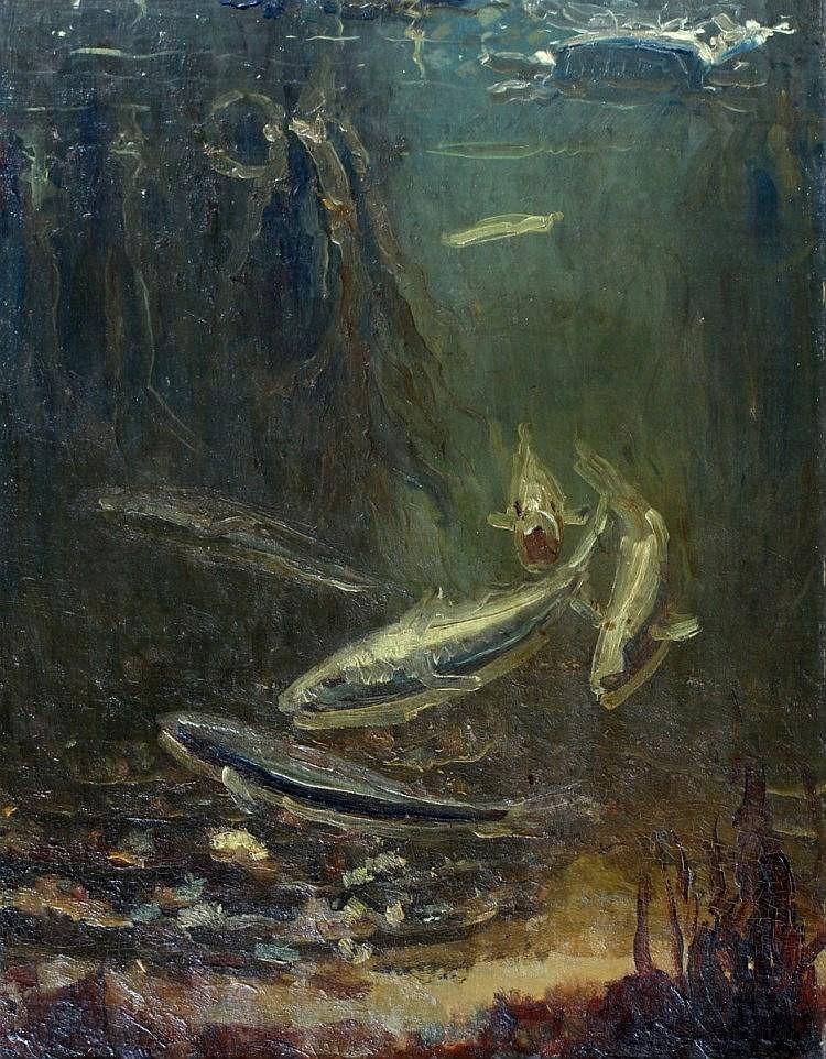 Gerrit Willem Dijsselhoff (1866-1924), 'Kabeljauwe