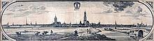 Jacob Quack (1622-1668), 'Delft'. Niet gesigneerd.