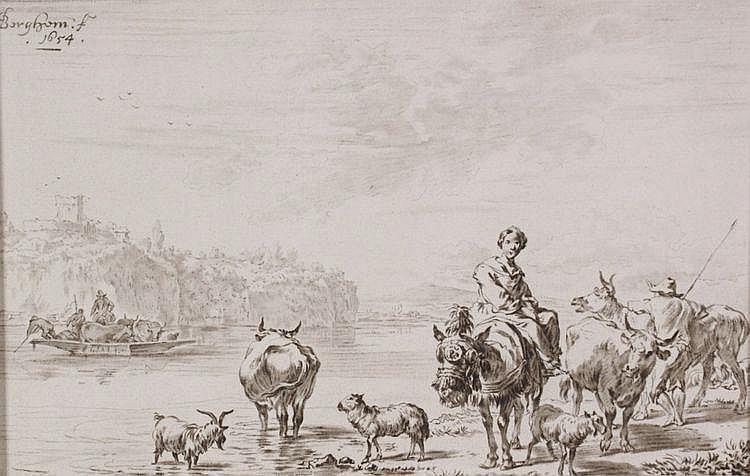 Cornelis Ploos van Amstel (1726-1798) Herders met