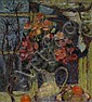 Theo Kurpershoek (1914-1998) Bloemen in aardewerk, Theo Kurpershoek, Click for value