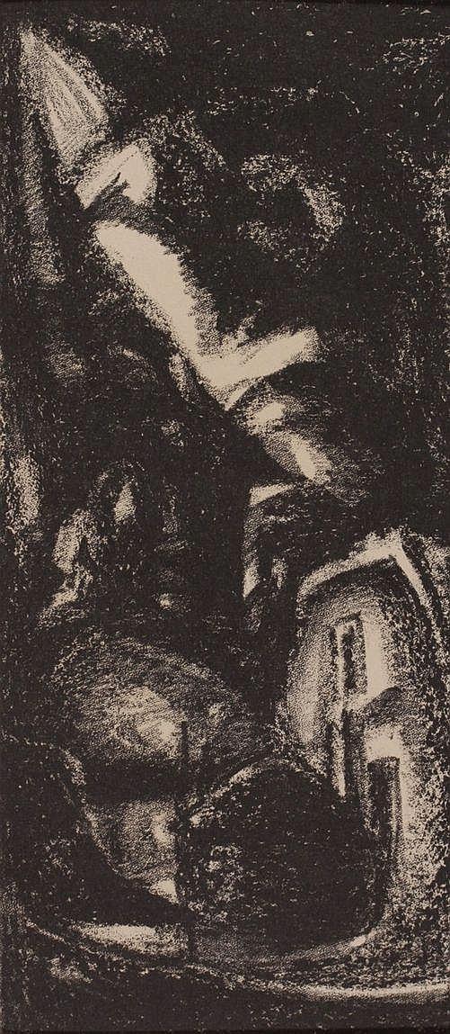 Kees van Urk (1895-1976) Hooiberg voor een