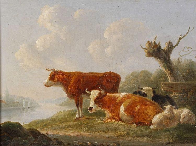 Jan II Baptist Kobell (1778-1814) Een zomers