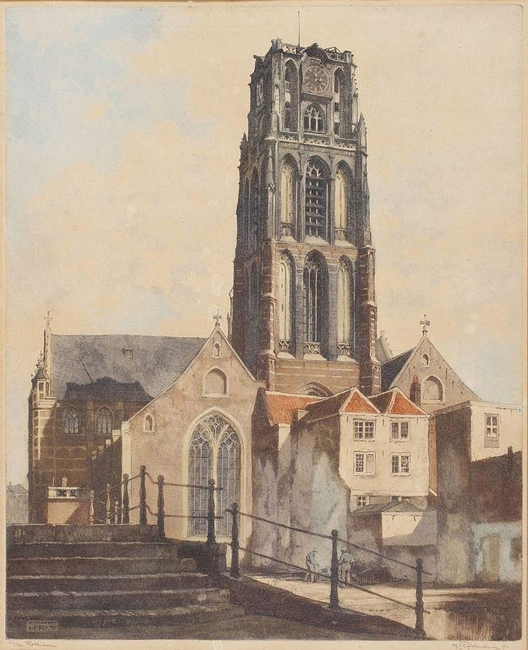 Hendrikus Elias Roodenburg (1895-1987) Laurenskerk