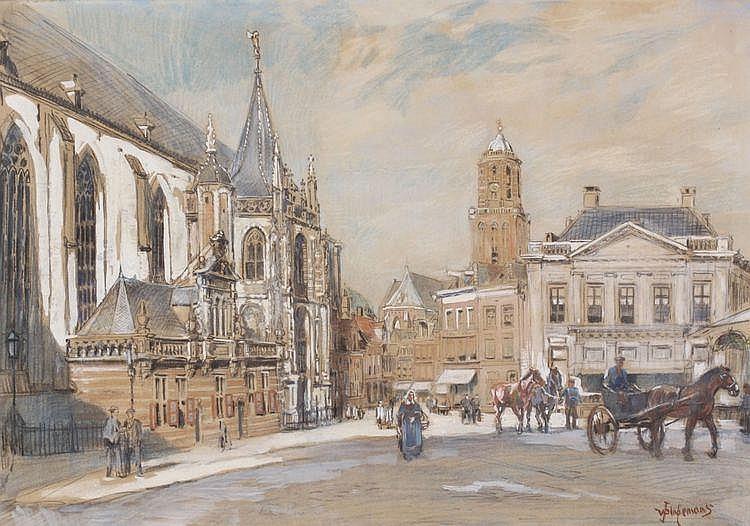 Waalko Jans I Dingemans (1873-1925) Een stadsplein