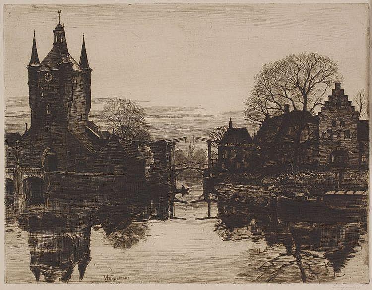Waalko Jans Dingemans (1873-1925) Stadspoort