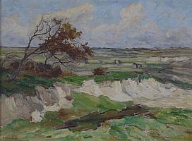 Frans Smissaert (1862-1944) Een duinlandschap.