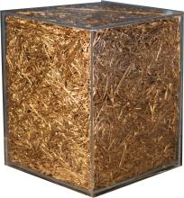 Sasha Sykes, Gold Straw Monolith 3