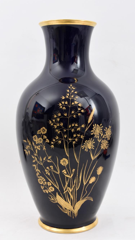 A Lindner porcelain vase