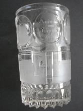 A Czech Biedermeier glass