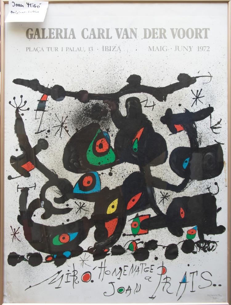 Miró Joan - Homenatge a Joan Prats