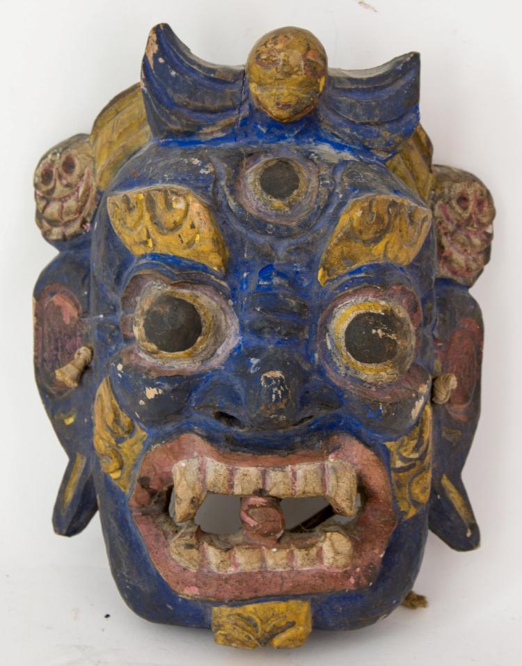 A mask of Bhairava / Mahakala