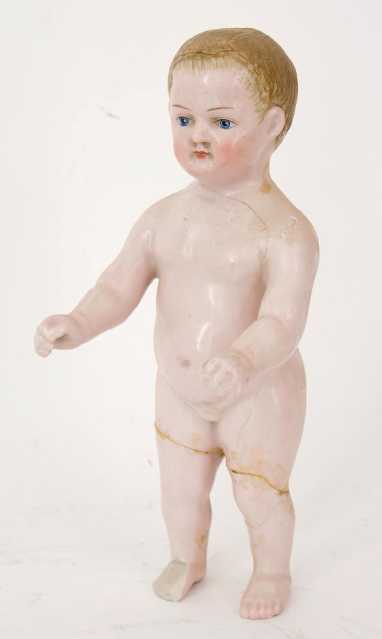 Antique porcelain figure