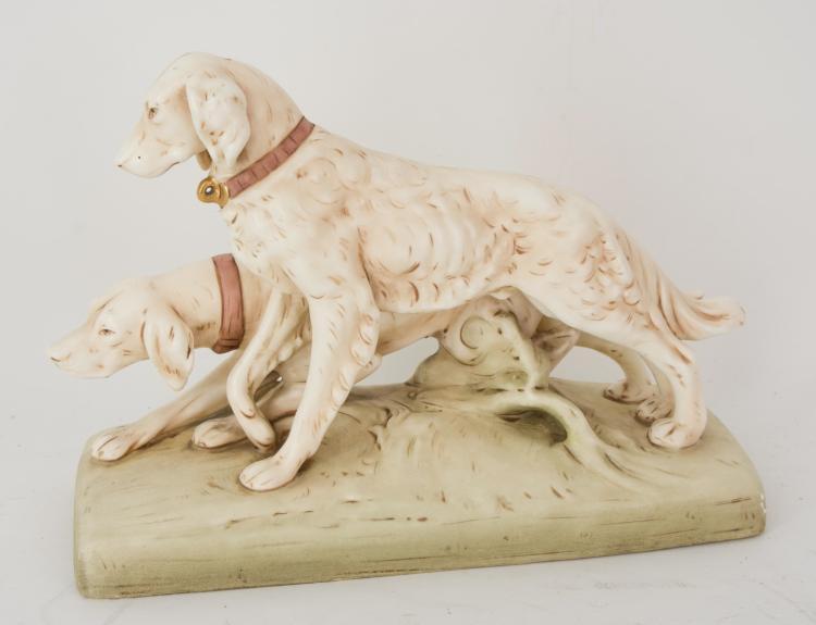 A ceramic figure