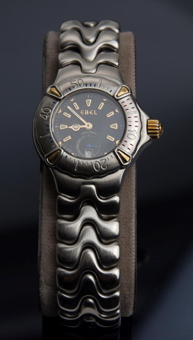 A 14K gold Junghans Mega men`s wristwatch