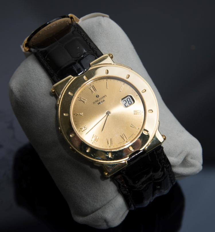 A Rolex Oyster Perpetual lady's steel writwatch
