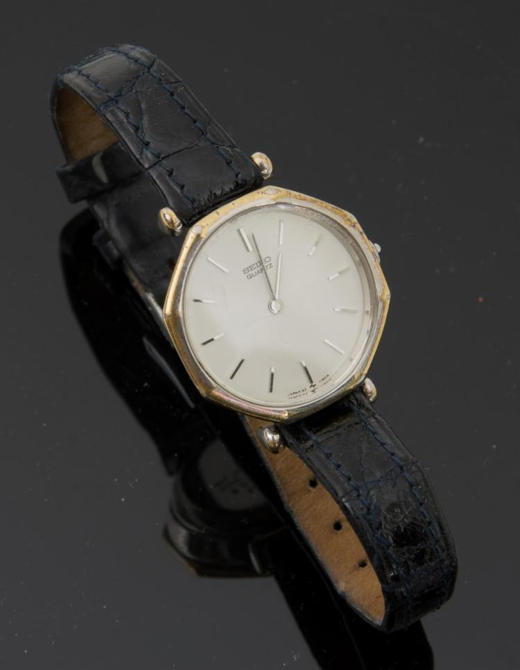 A Seiko wristwatch