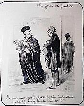 HONORE DAUMIER 1808-1879