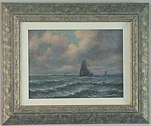 EUGENE BOUDIN 1824-1898 [attr.]