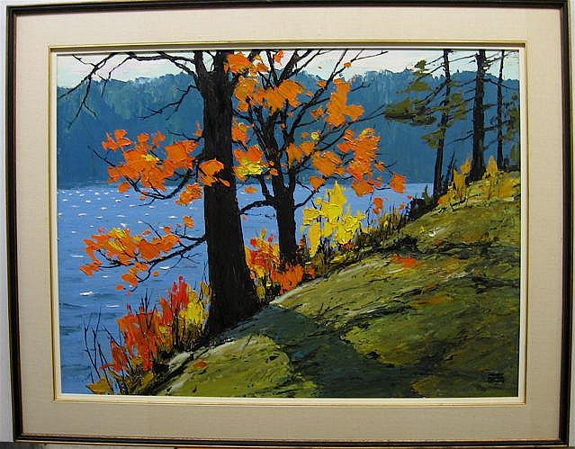 MURRAY MCCHEYNE STEWART (1919-2006) CANADIAN