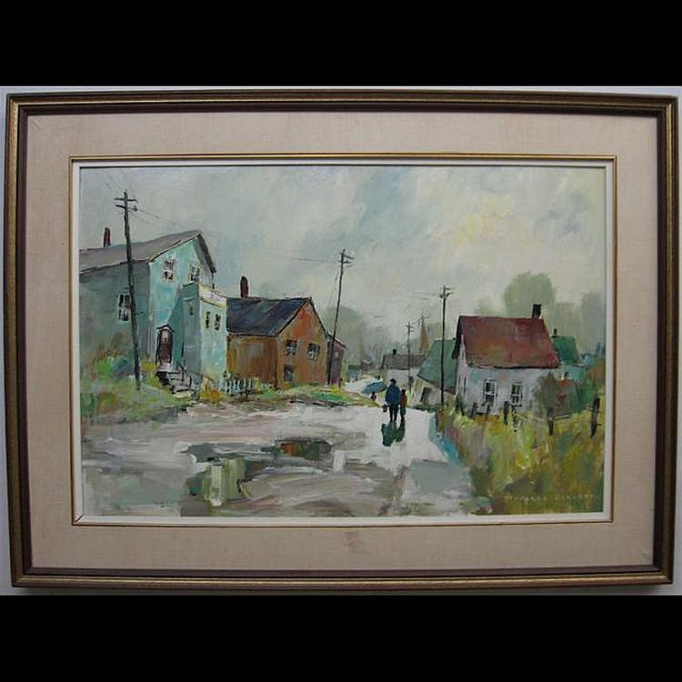 DOUGLAS FERGUSON ELLIOTT (CANADIAN, 1916-) GREY