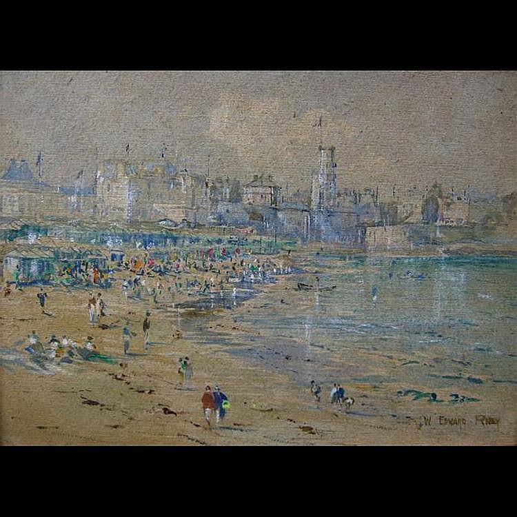 WILLIAM EDWARD RILEY (BRITISH, 1852-1937) DINARD,