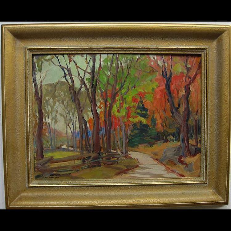 ERNA NOOK JACKSON (CANADIAN, 1886-?) NEAR