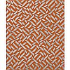 """Anni Albers (1899-1994), PO., 1973, Colour silkscreen and photo offset on heavy wove paper; signed, titled, dated 1973 and numbered """"PO. 9/40"""" in pencil to margin, Image/Sheet 14.8"""