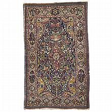 Tabriz Prayer Rug, Persian, c.1930, 7'0