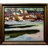 ERNEST ALFRED DALTON (CANADIAN, 1887-1963), UNTITLED (SPRING THAW - OLD MILL), OIL ON CANVAS; SIGNED LOWER RIGHT, 30 x 35 in — 76.2 x 88.9 cm, Ernest Alfred Dalton, CAD0