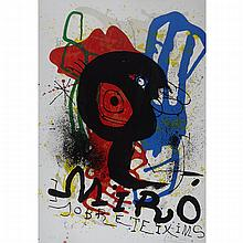 Joan Miro (1893-1983), POSTER FOR THE EXHIBITION