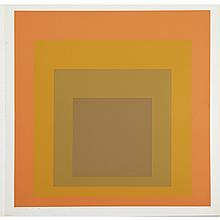 Joseph Albers (1888-1976), CONCORD, Colour screenprint; signed, titled, dated '65 and numbered 68/120 in pencil to margin. Unframed., Sheet 12
