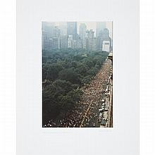 Ruth Orkin (1921-1985), WOMEN'S MINI-MARATHON UP CENTRAL PARK WEST, 3 JUNE 1978, Type C colour photograph on Kodak paper; signed, titled and dated