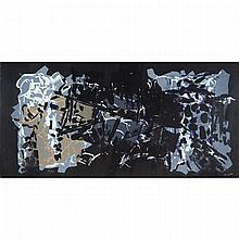 Jean Paul Riopelle (1923-2002), ALBUM 67 (NO. 9), 1967 [YSEULT RIOPELLE, CAT. NO. 1967.29IEST.LI.ALB], Colour lithograph; signed and numbered 56/75 in white colour pencil, Sheet 15.75