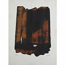 Pierre Soulages (1919- ), EAU-FORTE XV1, 1961 [GATTO, 17], Colour etching and aquatint; signed and numbered 51/100 in pencil to margin. Published and printed by Lacourier., Sheet 30