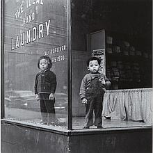 Arthur Leipzig (1918- ), IDEAL LAUNDRY, 1946, Gelatin silver print; signed in pencil, stamped verso. A later impression., 11