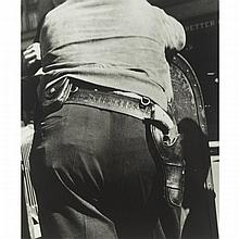 Ben Shahn (1898-1968), SHERIFF'S DEPUTY, MORGANTOWN, W. VA., 1935, Gelatin silver print; printed c. 1978 under the supervision of Arthur Rothstein from a portfolio of 51 Farm Security Administration photographs by Shahn, including view from Arkansas,