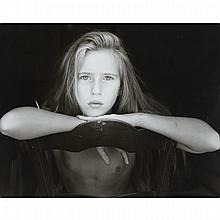 Jock Sturges (1947- ), LIDWINE, ORLEANS, FRANCE, 1988, Gelatin silver print; signed, titled, numbered 4/40 and dated '88 in pencil verso, 17.3