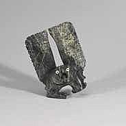 PADLAYA QIATSUK (1965-), E7-2193, Cape Dorset