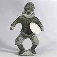 MANASEE MANIAPIK (1939-), E6-290, Pangnirtung DRUM