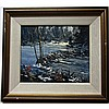 WILF FRANK GRIFFITHS (CANADIAN, 1917-2000), BEAVER DAM, HALIBURTON, OIL ON MASONITE; SIGNED LOWER RIGHT; SIGNED, TITLED VERSO - Inventory #1195, 10