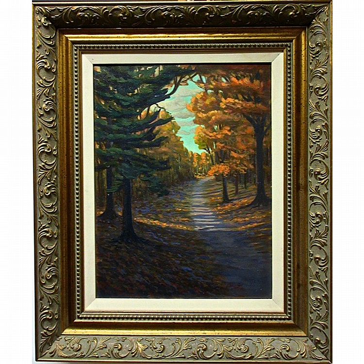 NORMAN R. BROWN (CANADIAN, 1958-), MORNING LIGHT SEPTEMBER, OIL ON CANVAS; SIGNED LOWER RIGHT; SIGNED, TITLED AND DATED '95 VERSO, 20