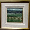 NORMAN R. BROWN (CANADIAN, 1958-), HOLT RD. LOOKING WEST, OIL ON PANEL; INITIALED LOWER RIGHT; SIGNED, TITLED VERSO, 7
