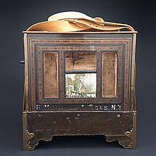 American Barrel Organ, G. Molinari & Sons, Brooklyn, N.Y., 19th century, 16.25