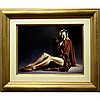 PAUL KELLEY (CANADIAN, 1955-), DEANNA, OIL ON MASONITE; SIGNED LOWER RIGHT; SIGNED, TITLED AND DATED 1988 VERSO, 12