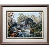 JAMES LORIMER KEIRSTEAD (CANADIAN, 1932-), THE PARHAM MILL, OIL ON MASONITE; SIGNED LOWER RIGHT; SIGNED AND TITLED VERSO, 18