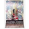 "JASPER JOHNS (AMERICAN, 1930-), SAVARIN COFFEE, EXHIBITION POSTER; PRINTED BY TELAMON EDITIONS LIMITED, NEW YORK (Sheet, 45.5"" x 29.5"") UNFRAMED, Jasper Johns, CAD0"