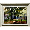 JAMES (JIM) BIRNIE (CANADIAN, 20TH CENTURY), EARLY SPRING, PALMER RAPIDS, MADAWASKA, OIL ON MASONITE; SIGNED LOWER LEFT; TITLED TO ARTIST LABEL VERSO, 18