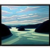 NORMAN R. BROWN (CANADIAN, 1958-), NORTH & EAST COAST SERIES, OIL ON CANVAS; SIGNED AND DATED '04 LOWER RIGHT; SIGNED, TITLED VERSO - Inventory #3472, 30