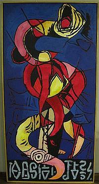 ERIK GAMBLE (CANADIAN, 1950-2007) SORCERER;