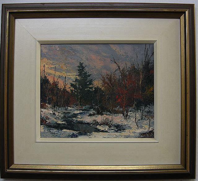 WILF FRANK GRIFFITHS (CANADIAN, 1917-2000) CREEK